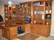 Built in Home Office