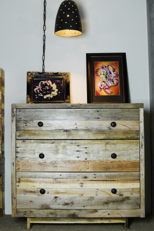 Custom Palette 3 drawer Dresser