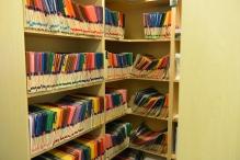 Custom bookshelf in Dentist office