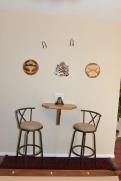 Custom wall table