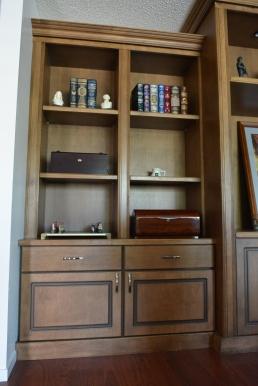 Built in Bookshelf/Cabinet
